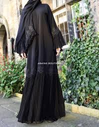 New Abaya Design 2019 Dubai New Lavish Flutter Open Abaya Abaya Designs Latest Abaya