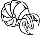 Zvěrokruh Rak Tetování Design Obrázek Stáhnout 1 000 Clip Arts
