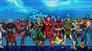 Marvels Villains Height Comparison Chart Vamers