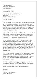 Sample Of Application Letter For Position Sample Application Letter Formal Letter Writing