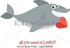 smiling shark clipart.  Clipart Friendly Smiling Shark  Csp27325206 Throughout Smiling Shark Clipart