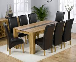 spacious 8 seater dining room table and chairs gallery at seat