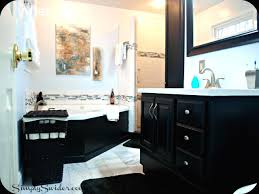 Black And White Tile Bathroom Decorating Ideas Clipgoo Alluring
