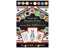 c t publishing gifts michele hill s beatrix potter playing cards