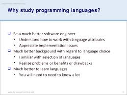 programming assignment help by myassignmenthelp 3 why study programming languages