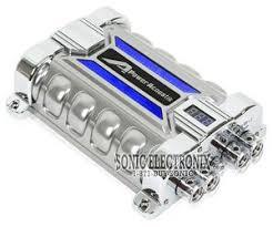 planet audio pc10f 10 farad capacitor digital voltage power