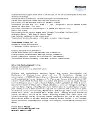 Systems Admin Resumes Network System Administrator Cv It Executive Resume