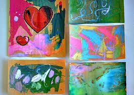 art activities for kids sand paper art