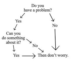 Worry Chart Image Flowchart To Reduce Worry Xpost From R Meditation