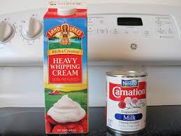thanksgiving tip heavy cream vs
