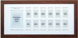 Employee Of The Month Photo Frame Employee Of The Month Frame 13x27 Holds All Photos For An Entire