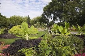 montreal botanical garden in summer montreal quebec canada