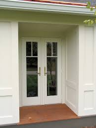 French Doors Exterior Outswing Photo Farmhouse Design And Intended ...