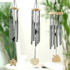 wooden wind chimes outdoor metal wind chimes yard wind chime window bells wall hanging decorations home
