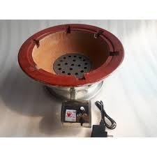 Lò than có quạt tròn 38cm dùng cho quán ốc vỉ hè - Bếp nướng Thương hiệu  OEM