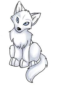 cute simple wolf drawing. Interesting Wolf Anime Wolf Pup Easy  ClipArt Best Cute Drawings Drawing Easy  Intended Simple U