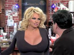 Dancing On Ice Pamela Anderson    am eliminated because of my boobs     Pamela Anderson after removing breast implants