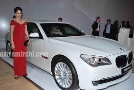 bmw new car releaseVidya Malvade at BMWs 5Series launch  eXtraMirchicom