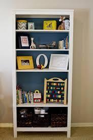 elegant spray painting bookshelf