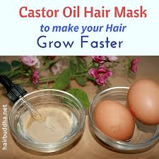 castor oil hair mask for thick hair growth