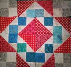 Block 3 | Jamestown BOM from Ladybug Hill Quilts | Pinterest & Easy Street quilt along Adamdwight.com