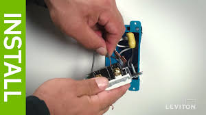 leviton presents how to wire a device using the quickwire method leviton presents how to wire a device using the quickwire method