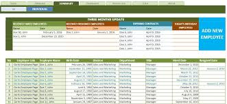Employee Database Excel Template Employee Database Excel Under Fontanacountryinn Com