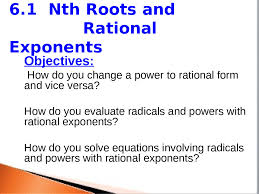 7 1 7 2 nth roots and rational