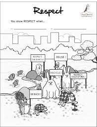 Small Picture Respect Coloring Pages Free Coloring Home