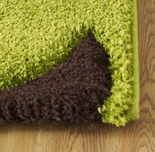 fashion 7647 green brown rug
