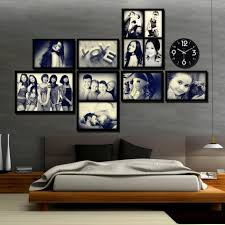 inspiring image of art large frames for wall decors elegant image of bedroom decoration using