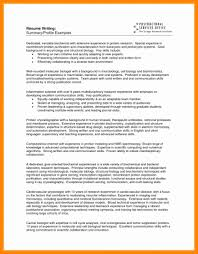 Profiles Examples For Resumes Fresh How To Write Summary For Resume
