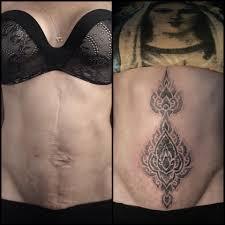 татуировка на шраме татуировки заказать