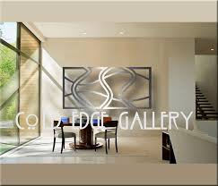 cold edge gallery large metal wall art abstract contemporary brushed aluminum on large metal wall art for living room with cold edge gallery large metal wall art abstract contemporary brushed