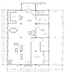 pole barn floor plans with living quarters elegant best images about 40x60 cost qu