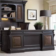 elegant home office desks furniture. Brilliant Home Office Furniture Executive Desk Hooker Telluride 76 With Leather Top Elegant Desks