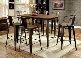 Industrial Counter Height Dining Table Counter Height Dining Sets Hello Furniture