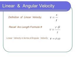 Speed Vs Velocity Angular Speed Vs Linear Speed Math Bitbucket Club