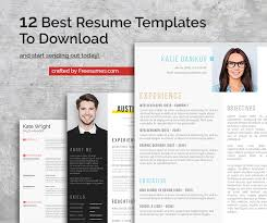 Free Modern Resume Templates No Creditcard Required 12 Best Resume Templates To Download And Start Sending Out Today