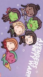 Avengers Infinity War Chibi 1 2 Shuri Hulk Gamora Black Widow