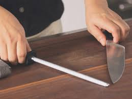 How To Sharpen And Care For Your Kitchen Knives  Bon Appétit How To Sharpen Kitchen Knives
