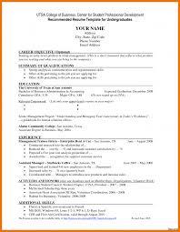 High School Student Resume Objective Resume Online Builder