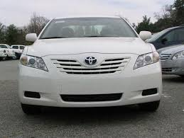 toyota camry 2007 white. front view 2007 toyota camry car picture white