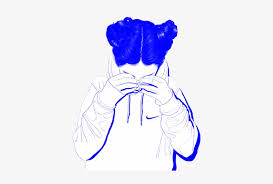 Aesthetic cute drawing Pinterest Tumblr Girl Aesthetic Blue Sad Vaporwave Cute Whit Aesthetic Girl Drawing Black And White Seekpng Tumblr Girl Aesthetic Blue Sad Vaporwave Cute Whit Aesthetic Girl