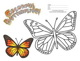 Small Picture Epic Monarch Butterfly Coloring Page 98 With Additional Free