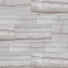 VitaElegante Grigio Porcelain Tile On The Walls With Mitte Gray - Glazed bathroom tile