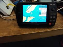 Details About Standard Horizon Cp155c Color Gps Chart Plotter Unit Only Used Working