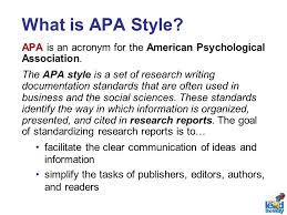 American Psychology Association Format American Psychological Association Format Essay Example January