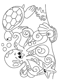 Small Picture Under the sea creatures coloring pages ColoringStar