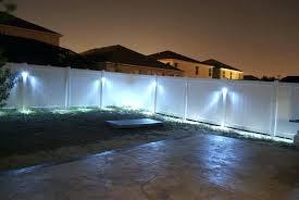 outdoor fence lighting design ideas led bring your garden inside measurements x fixtures